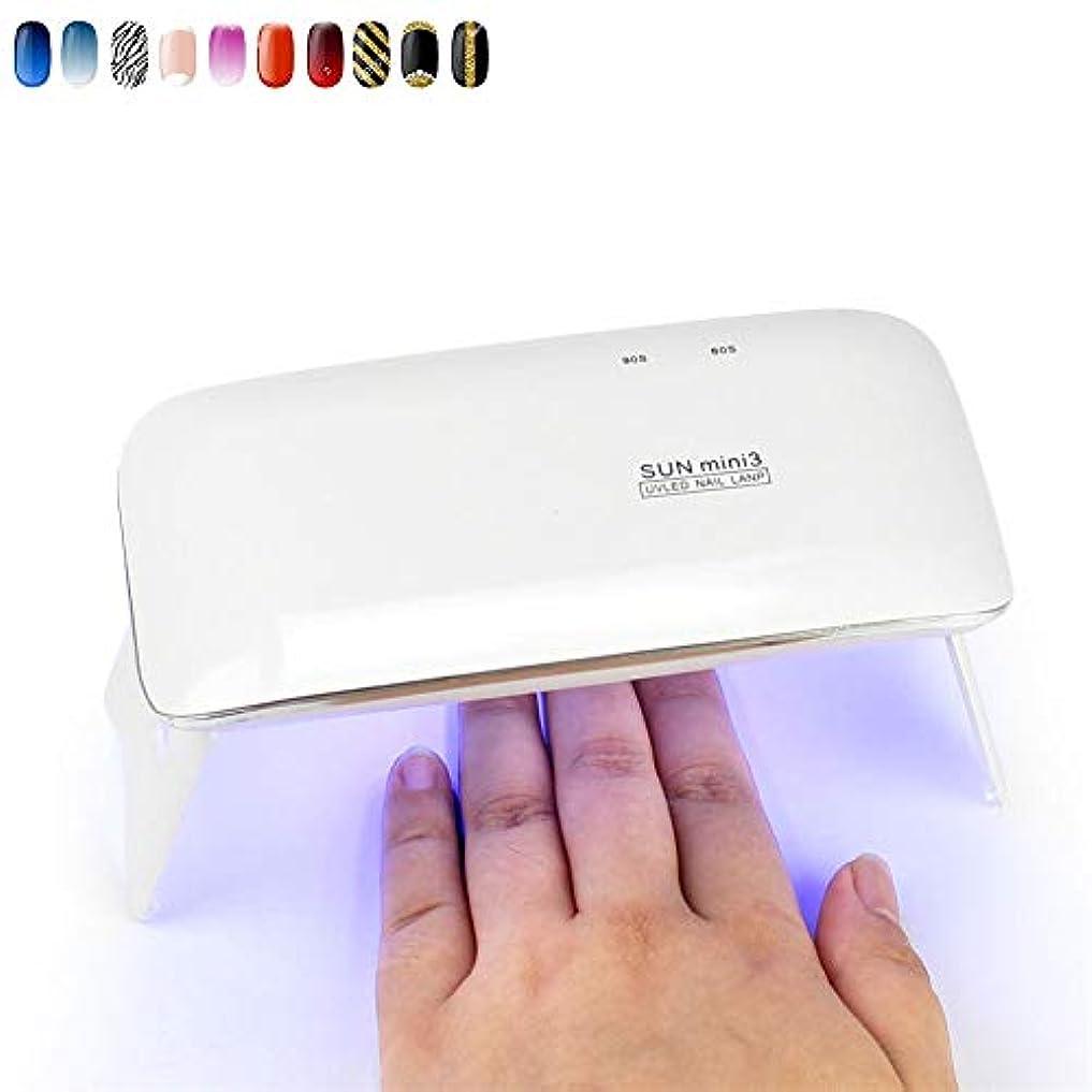 うるさい国内のシンプルさネイル用ランプおよびジェルポリッシュランプLEDミニネイルスタッドライト6W USB充電ネイルドライヤー高速硬化ジェルワニス