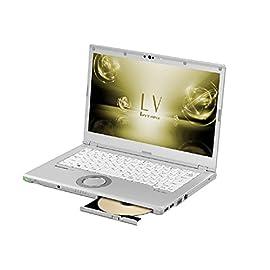 パナソニック (Panasonic) 14.0型ノートPC レッツノート LV CF-LV72DFQR シルバー [Office付き・Win10 Pro・Core i5・SSD 128GB]