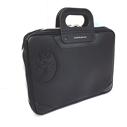 [カステルバジャック] CASTELBAJAC 薄マチビジネスバッグ A4 / マタン 099501 (クロ)