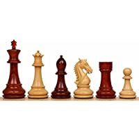 Bridled Stallion Staunton Chess Set in Red Sandalwood & Boxwood - 4.75 King by The Chess Store [並行輸入品]