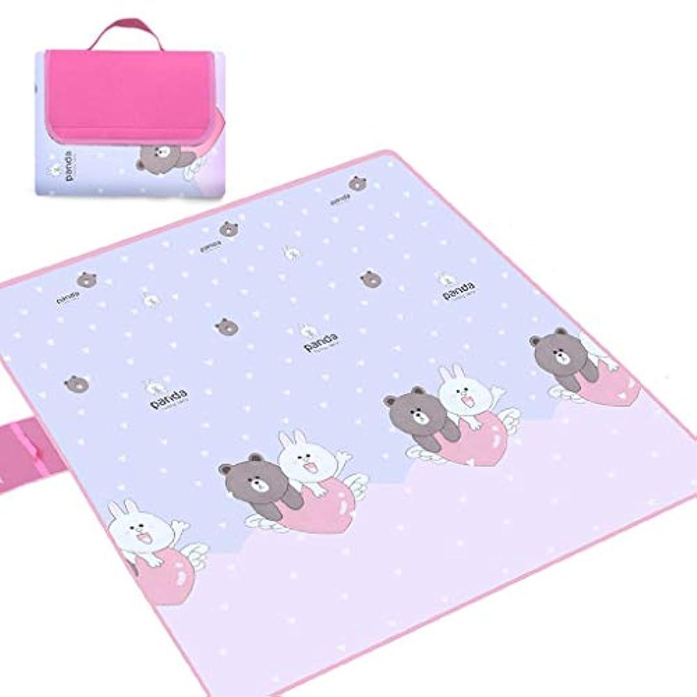 失態理論的不適浜のマット、ピクニック毛布、携帯用屋外のカーペットのマット、キャンプのためのサンドプルーフ屋外 (Color : C, Size : 200x200cm)