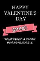 happy valentine's day  Samuel Quote: composition notebook :valentine's day gift for an happy valentine day gratitude your lover