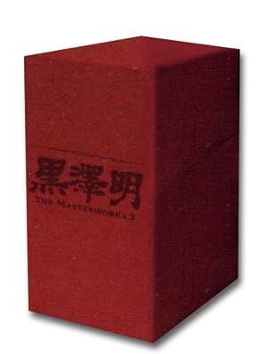 黒澤明 : THE MASTERWORKS 3 DVD BOXSET