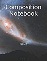 Composition Notebook: Notebooks for Girls Teens Kids School Writing Notes Journal (7.5 x 9.25 in)