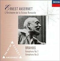 ブラームス:交響曲第1&3番