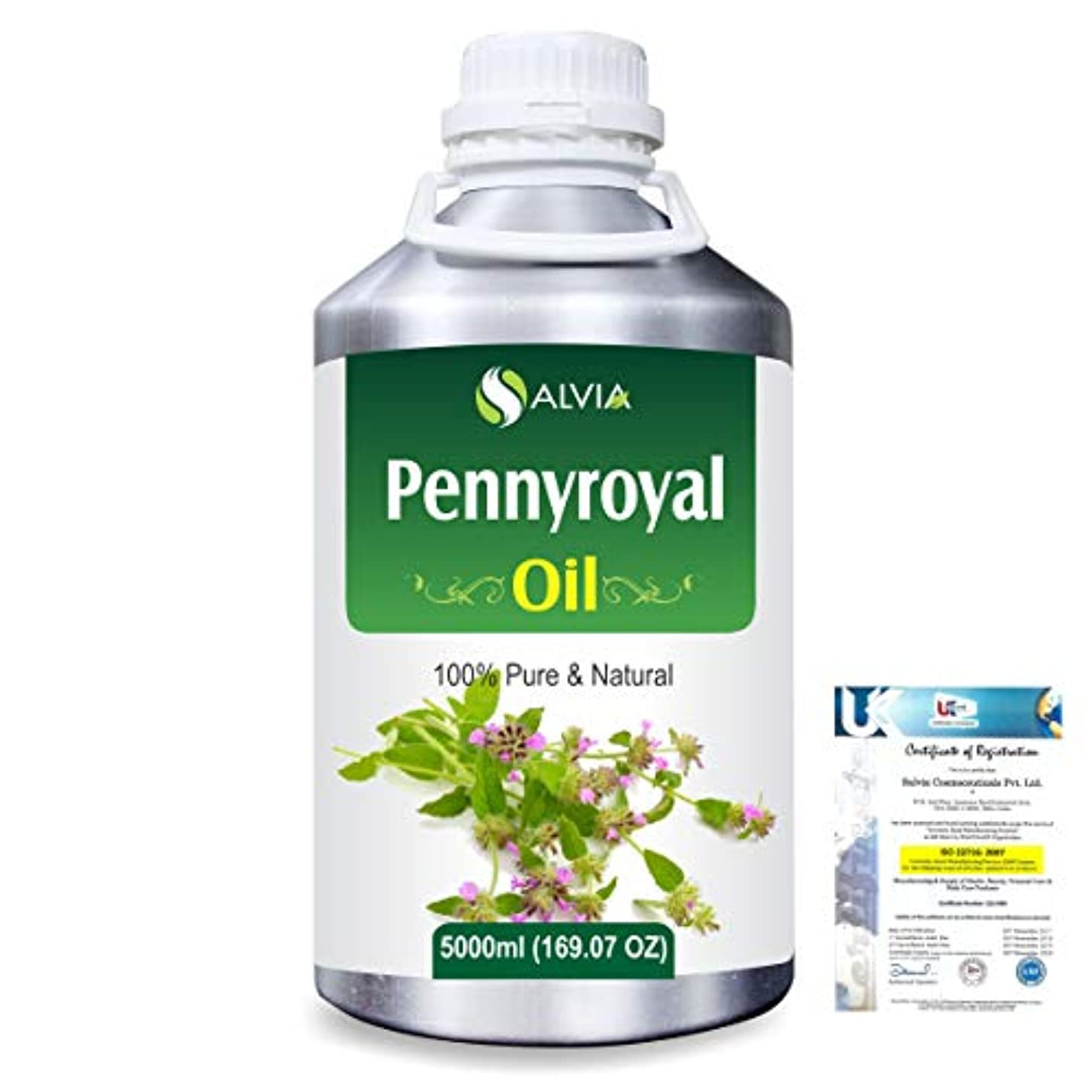 保存シュリンクそっとPennyroyal (Mentha pulegium) 100% Natural Pure Essential Oil 5000ml/169fl.oz.