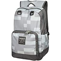 "JINX Minecraft Miner Kids Backpack (Grey, 18"") for School, Camping & Fun"