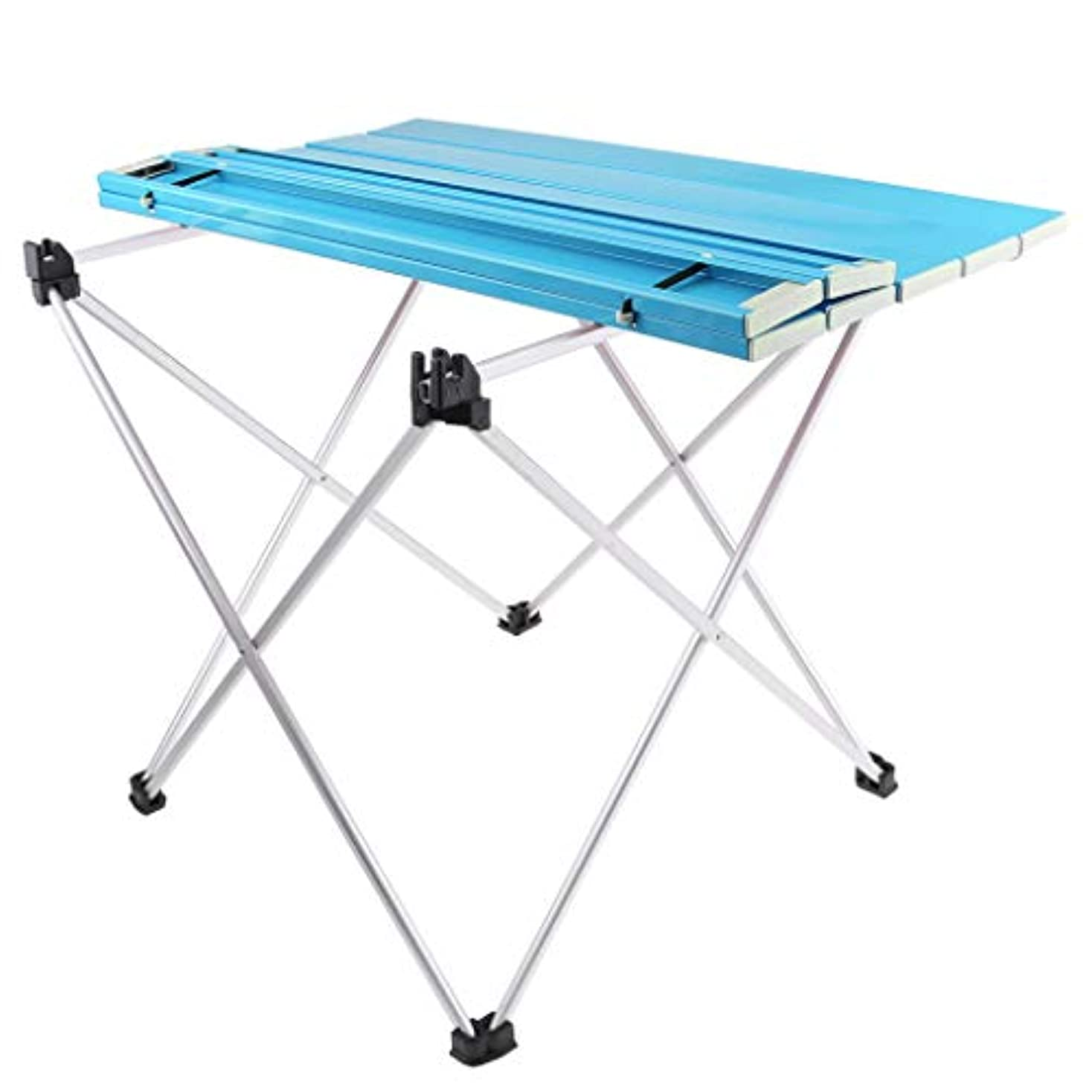 Fenteer 折りたたみ キャンプデスク ピクニックテーブル 全2サイズ