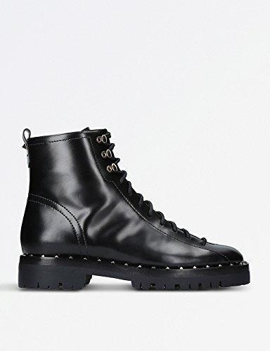 Valentino(ヴァレンティノ) シューズ ブーツ&レインブーツ soul studded leather combat boots BLACK i9f [並行輸入品]