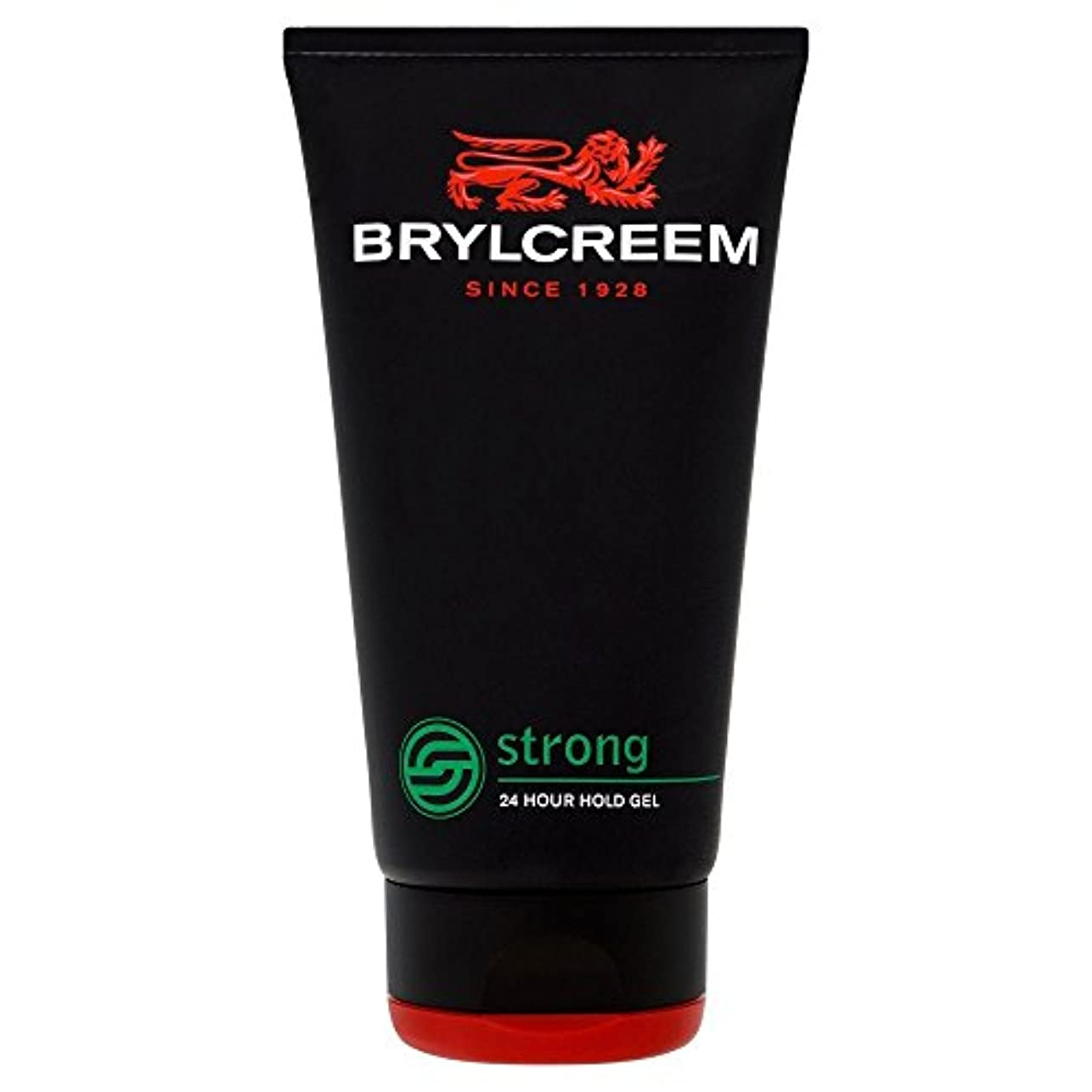 Brylcreem Strong 24 Hour Hold Gel (150ml) Brylcreem強い24時間の保持ゲル( 150ミリリットル)