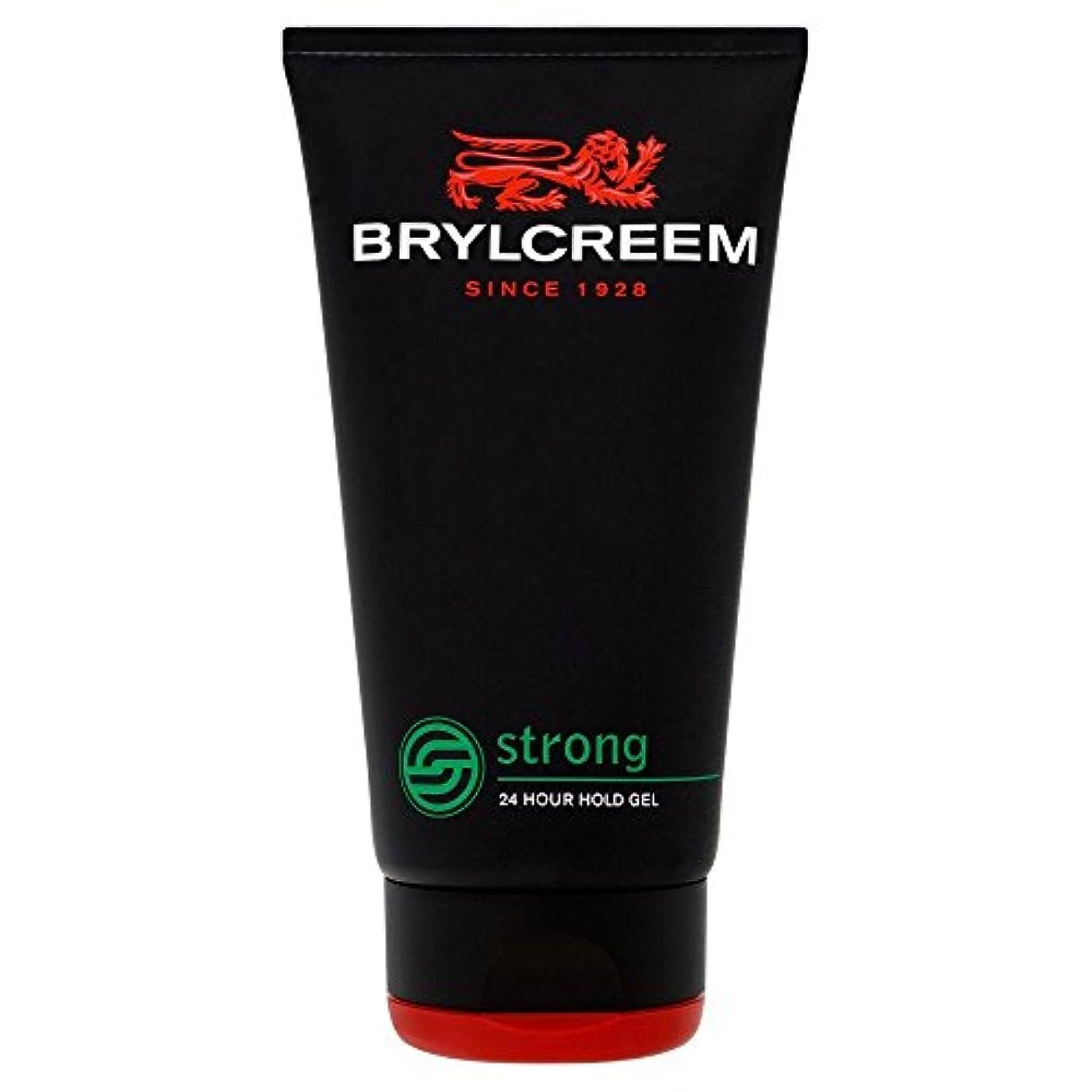 アンソロジーワンダー叱るBrylcreem Strong 24 Hour Hold Gel (150ml) Brylcreem強い24時間の保持ゲル( 150ミリリットル)