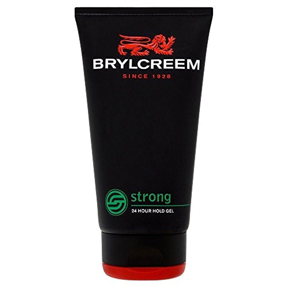 スコットランド人請求書アライメントBrylcreem Strong 24 Hour Hold Gel (150ml) Brylcreem強い24時間の保持ゲル( 150ミリリットル)