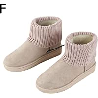 Awhao Electronic Foot Warmer Heated Snow Booties USB Non-Slip Heating Shoes Warm Foot Home Slipper