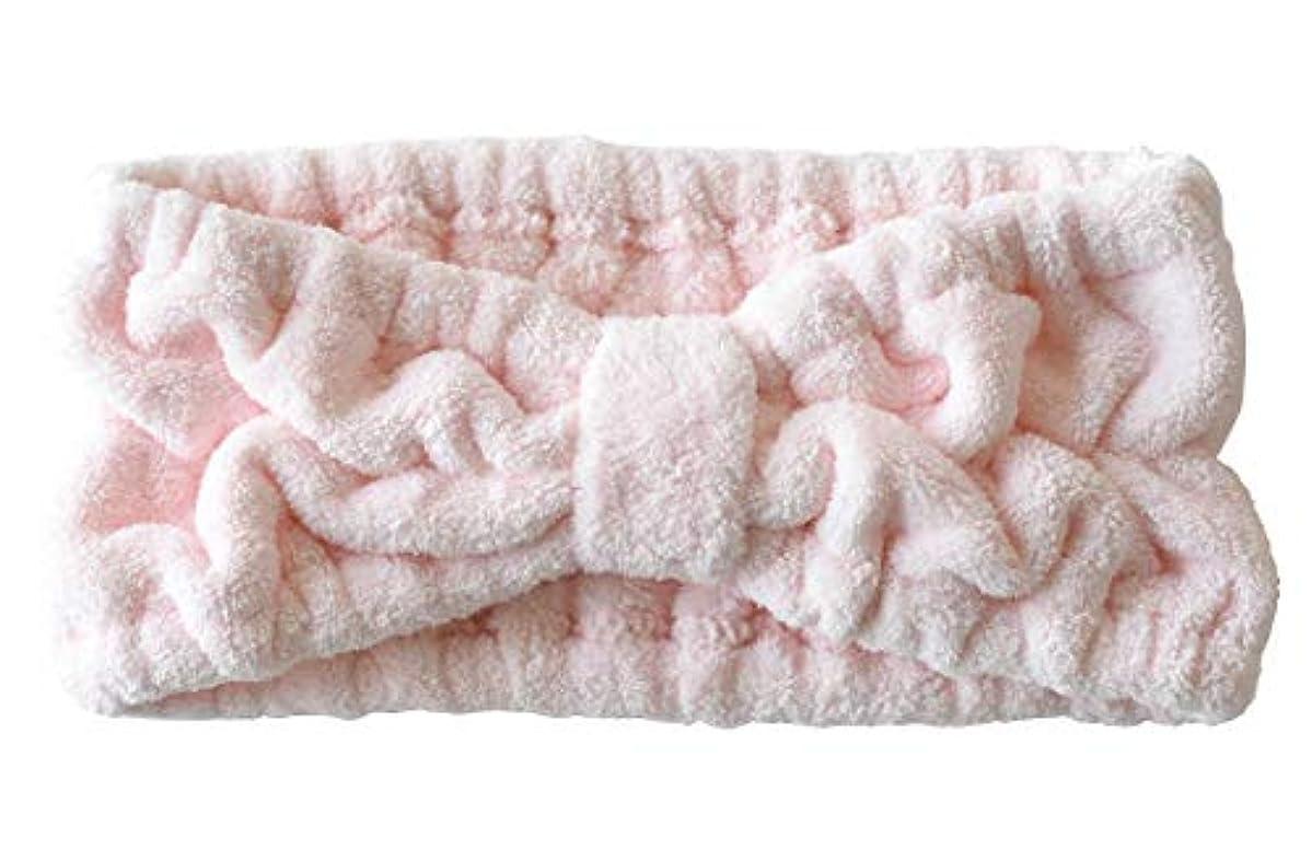 怠な葡萄選出するヘアバンド フリーサイズ ラベンダー ブルーグリーン ピンク (ピンク)