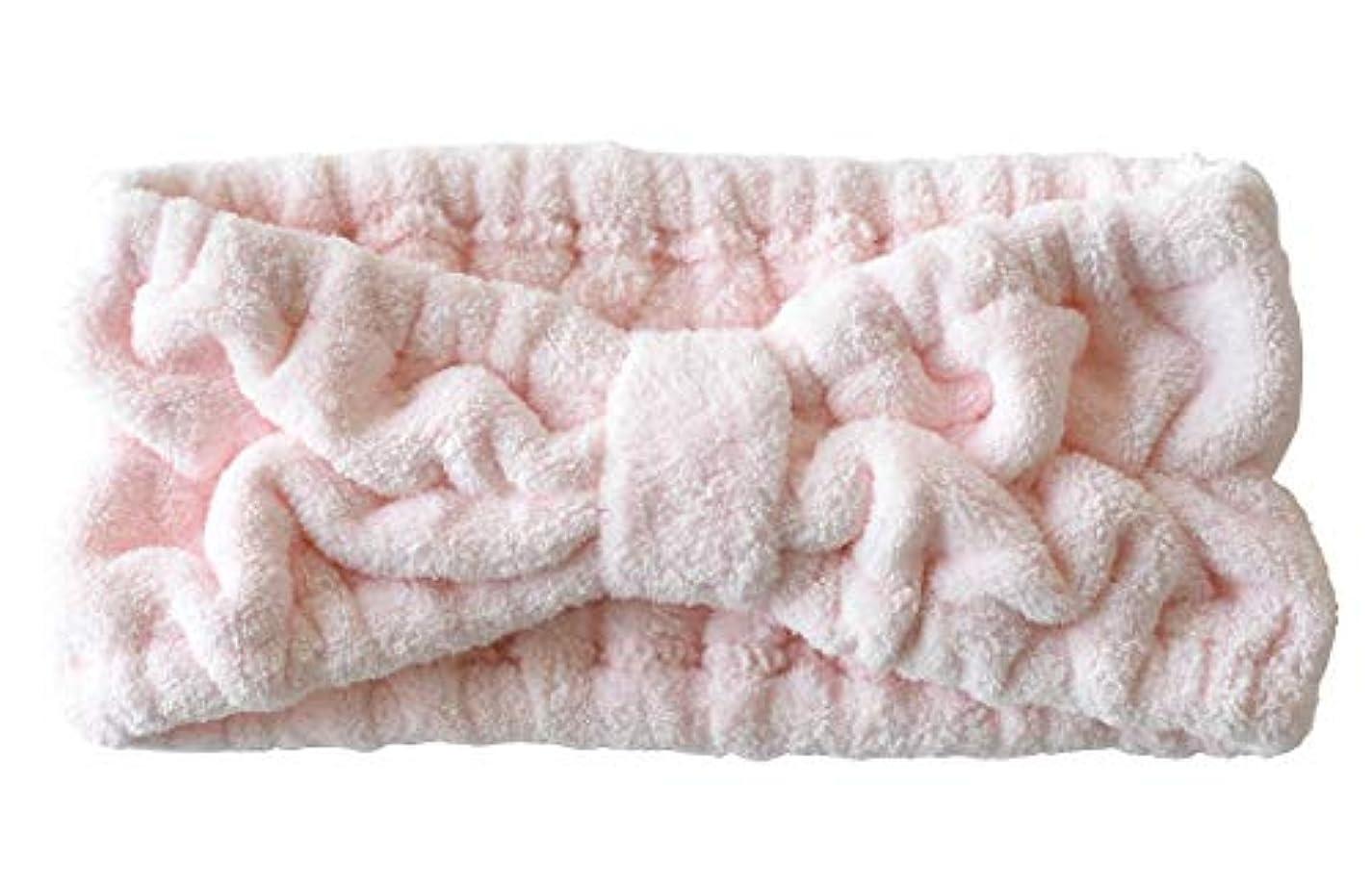 滅びるセージ困惑ヘアバンド フリーサイズ ラベンダー ブルーグリーン ピンク (ピンク)