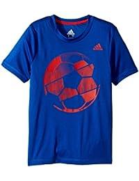 (アディダス) adidas キッズTシャツ Hacked Sport Ball Tee (Toddler/Little Kids) Dark Royal 2T Toddler (1.5-3歳) One Size
