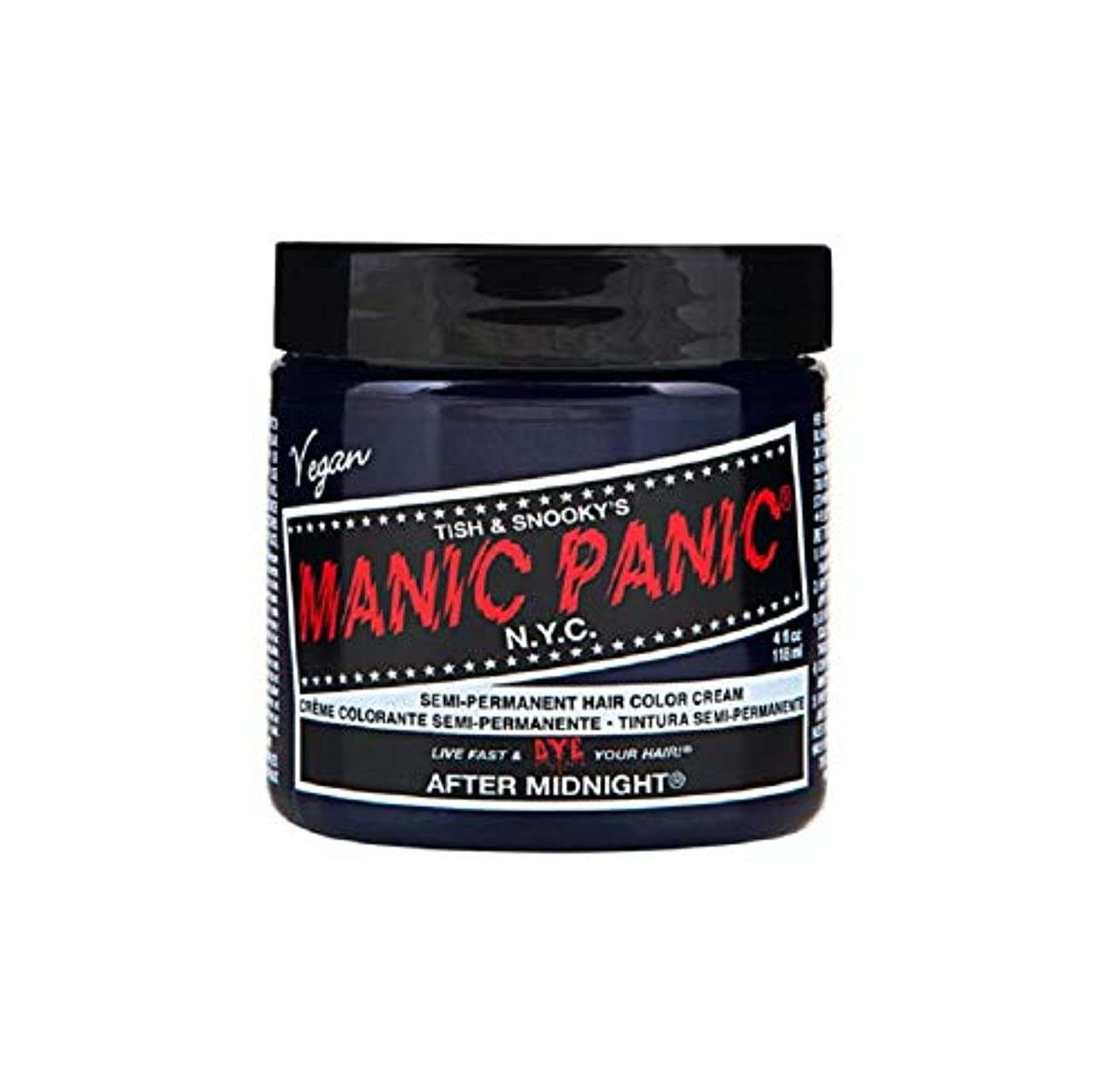 天第二フクロウマニックパニック MANIC PANIC ヘアカラー 118mlアフターミッドナイト ヘアーカラー