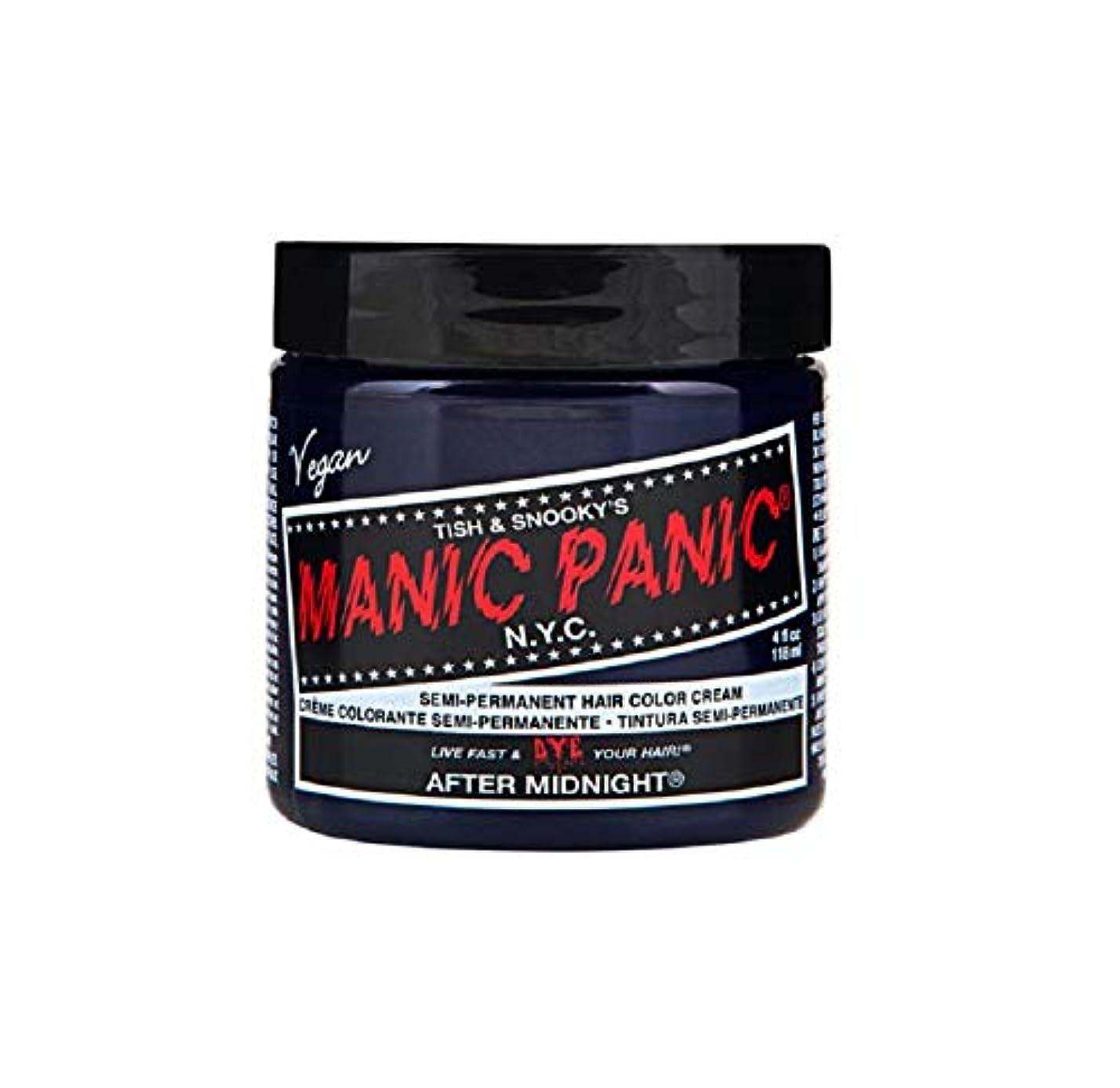 適度な災難耳マニックパニック MANIC PANIC ヘアカラー 118mlアフターミッドナイト ヘアーカラー