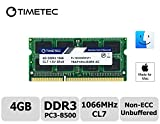 Timetec Hynix IC 4 GB Mac用 DDR3 PC3-8500 1066 MHz Apple専用増設メモリ 永久保証 (4 GB)