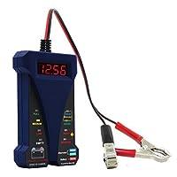 デュアルUSB充電器 電圧計付き ブルー MP0514B