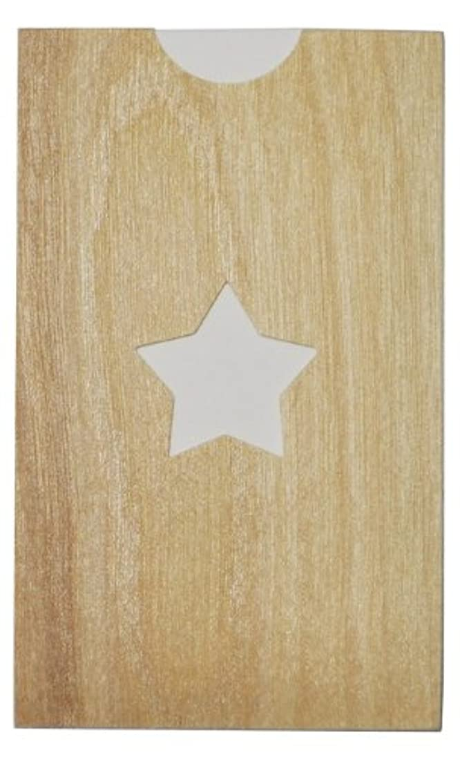 悪名高いロデオ謎yuica(ユイカ) 香りのカード /星(ヒノキのシートケース+ムエット紙10枚)