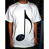 初音ミク 初音ミク音符Tシャツ ホワイト サイズ:L