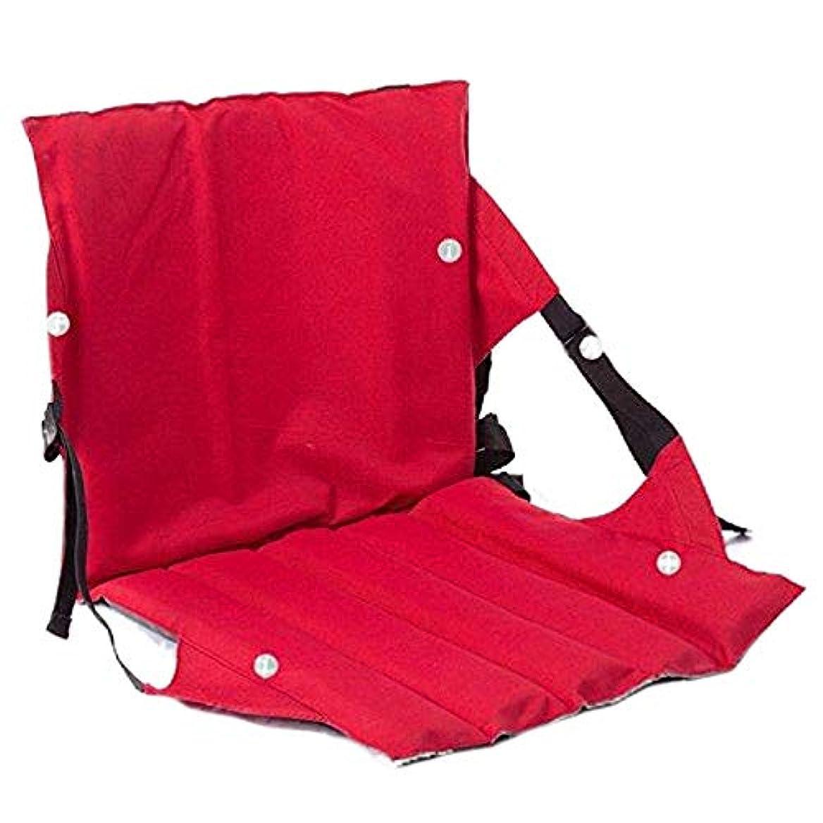 動揺させるアカデミックマント折りたたみキャンプチェア、足のないクッションポータブル軽量折りたたみシート屋外ガーデンチェア釣り旅行に最適ハイキングビーチ。