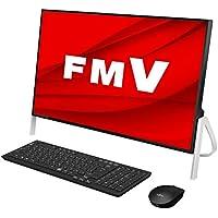 【公式】 富士通 デスクトップパソコン FMV ESPRIMO FHシリーズ WF1/D3 (Windows 10 Home/23.8型ワイド液晶/Core i7/16GBメモリ/約256GB SSD + 約3TB HDD/スーパーマルチドライブ/Office Home and Business 2019/ブラック)AZ_WF1D3_Z277/富士通WEB MART専用モデル