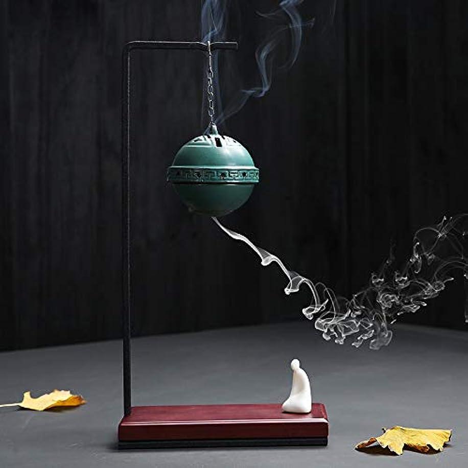 矩形ツールトロリーデコレーション無料の10個香コーンと逆流香バーナー香りサンダルウッドボール沈香,B