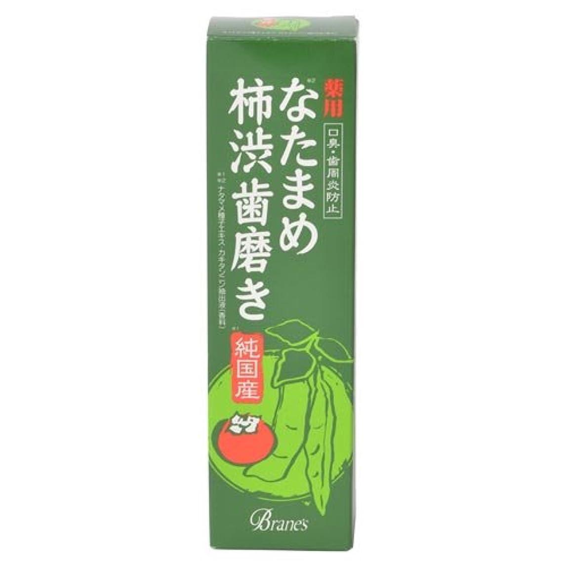 寸法カメ現在薬用なたまめ柿渋歯磨き 120g