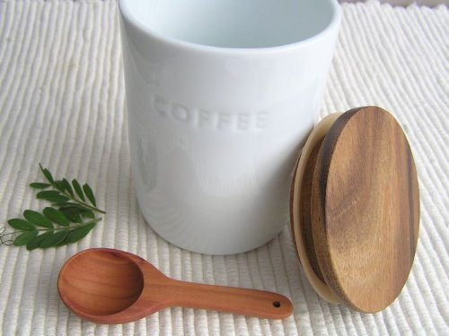 RoomClip商品情報 - シンプルキャ二スター コーヒー 木のスプーン付き