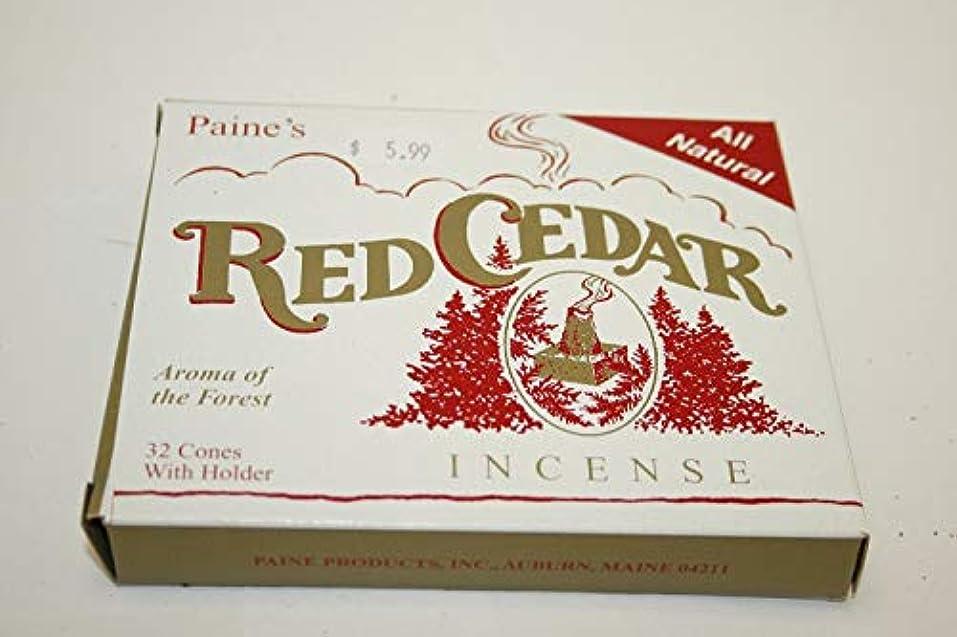 ギター推進力ラベIncense & Burner Comes with 32 RED Cedar Cones to Burn Wood Holder Lodge Style