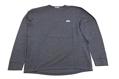 アブガルシア(Abu Garcia) スコーロン(防虫素材) ドライ長袖Tシャツ ネイビー Lサイズ ネイビー L