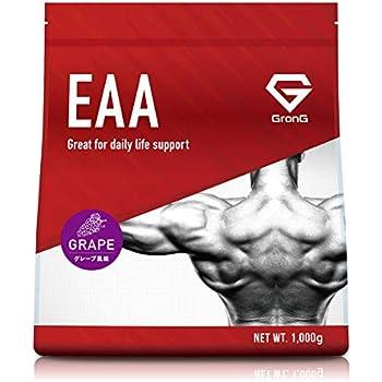 GronG(グロング) EAA アミノ酸 グレープ風味 1kg (100食分) 必須アミノ酸 国産