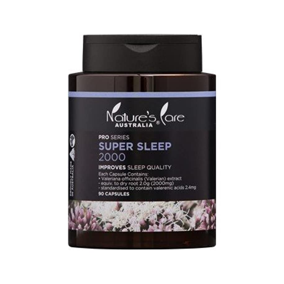 事道徳舌な【Nature's Care】上質な睡眠をサポート☆Super Sleep スーパースリープ 2000mg 90カプセル入
