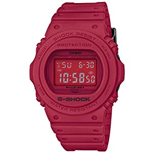 [カシオ]CASIO 腕時計 G-SHOCK ジーショック 35th Anniversary RED OUT DW-5735C-4JR メンズ