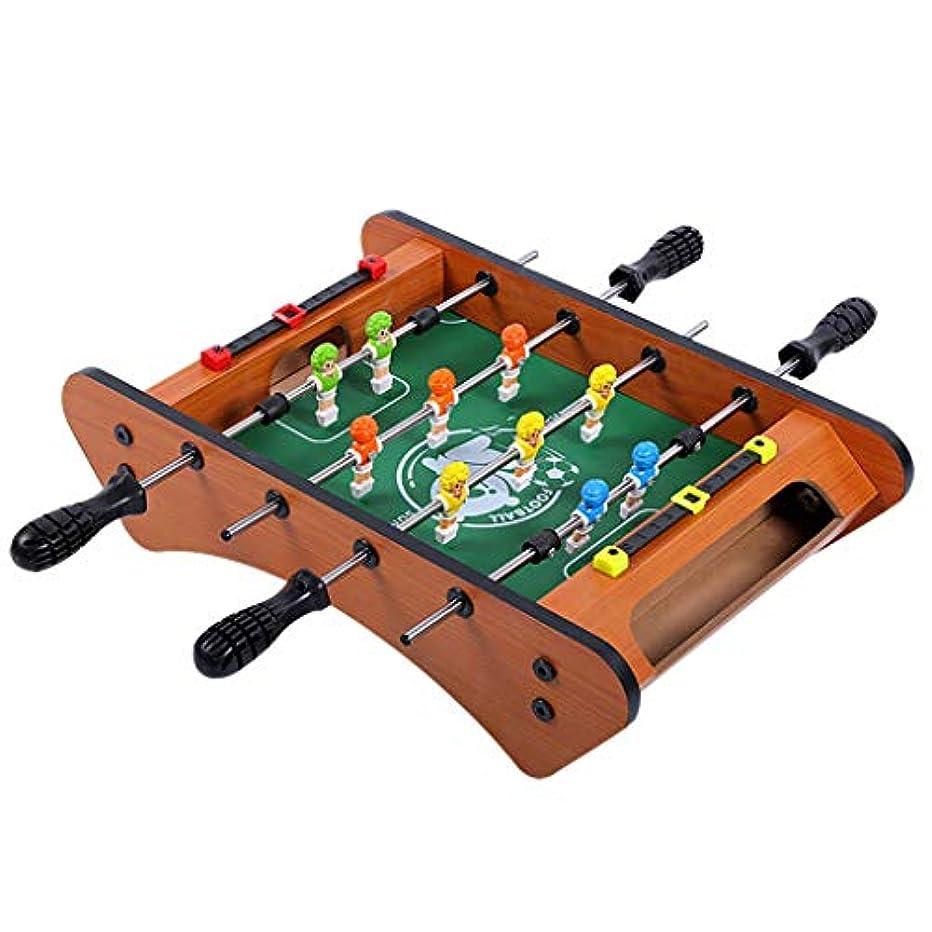 徴収ゲームエネルギーサッカーテーブルテーブルサッカーサッカーゲーム健康的なおもちゃパズルゲーム脳ゲーム子供のおもちゃおもちゃ3歳以上の贈り物子供のための (Color : WOOD COLOR, Size : 39*24*17.5CM)
