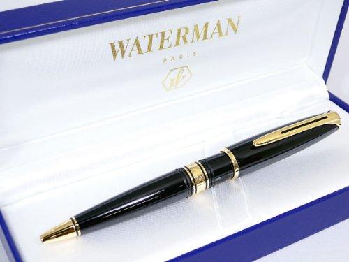 WATERMAN ウォーターマン チャールストン ボールペン エボニーブラック GTBP
