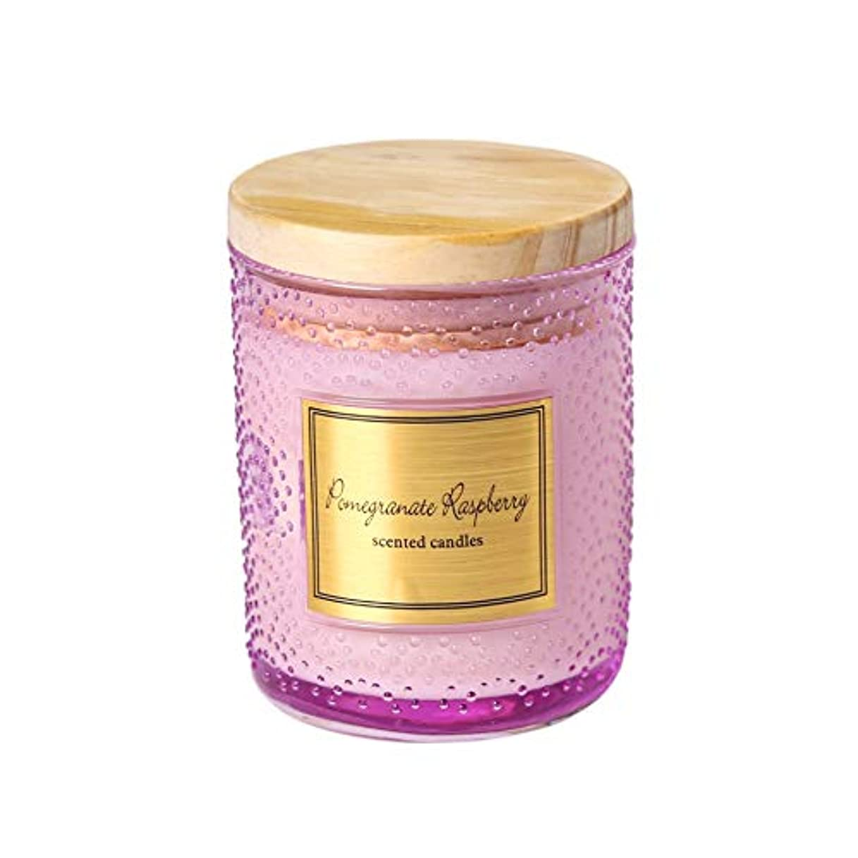カートン検出収容するGuomao 大豆ワックスカップアロマセラピーキャンドルカップ手作りキャンドルウェディングキャンドルカラーキャンドルハンドギフトボックス (色 : Polka dot purple)