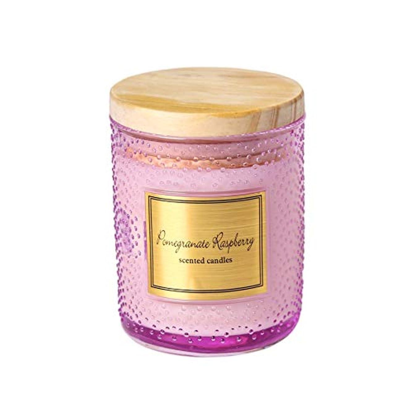新しい意味シュリンクGuomao 大豆ワックスカップアロマセラピーキャンドルカップ手作りキャンドルウェディングキャンドルカラーキャンドルハンドギフトボックス (色 : Polka dot purple)
