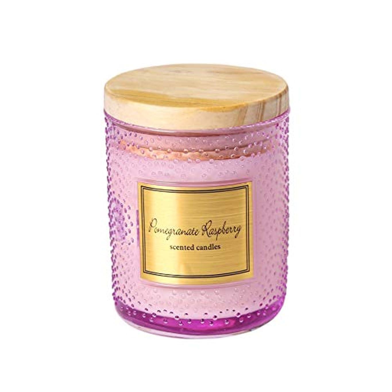 代わりにを立てる真面目な扱いやすいGuomao 大豆ワックスカップアロマセラピーキャンドルカップ手作りキャンドルウェディングキャンドルカラーキャンドルハンドギフトボックス (色 : Polka dot purple)