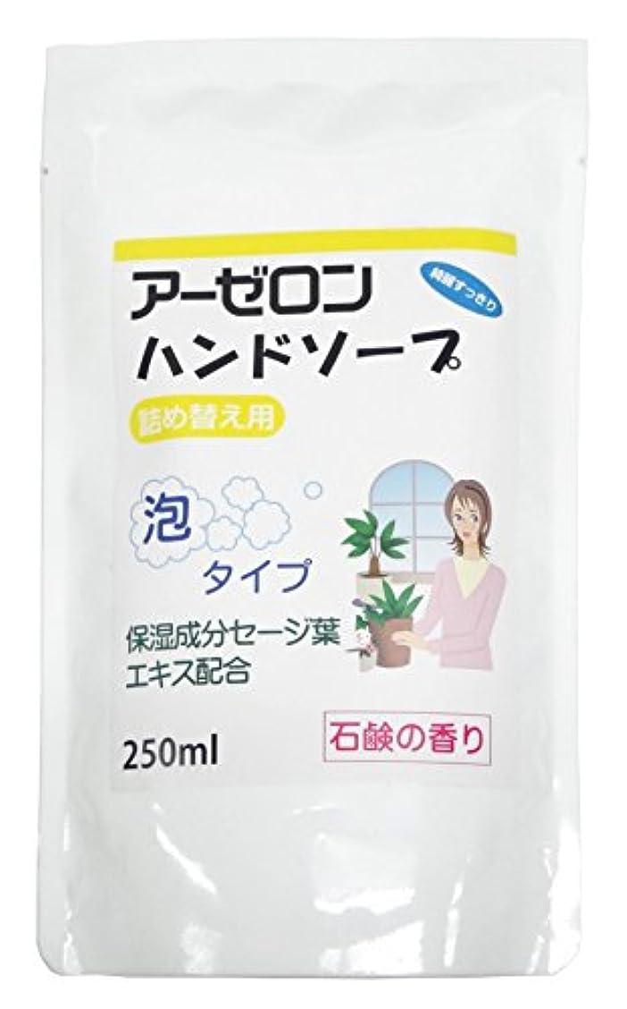 ブラケットから安全なアーゼロンハンドソープ 石鹸の香り(詰め替え用) 250ml