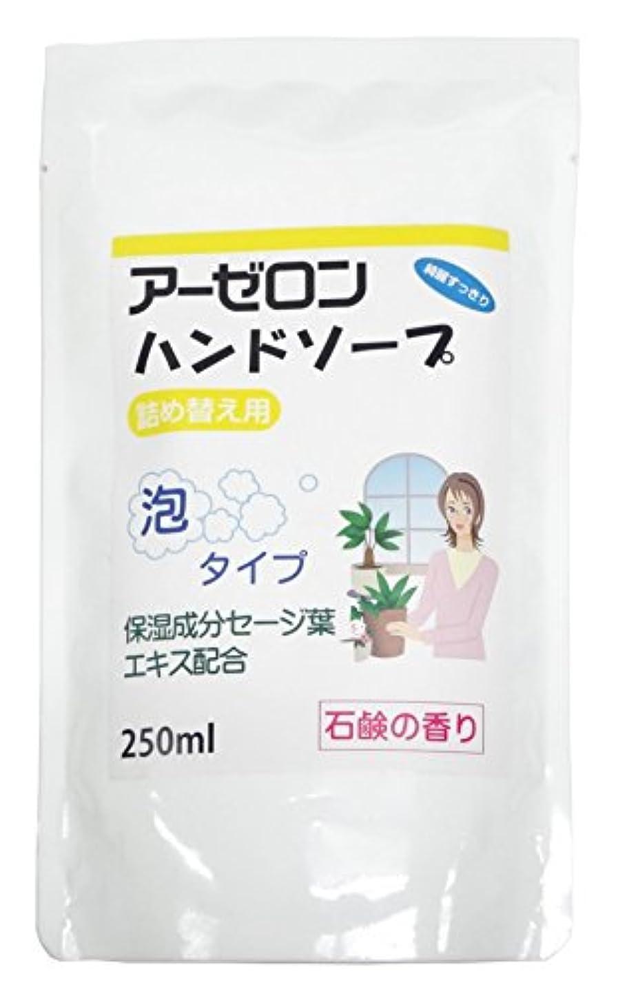 ネクタイ増加するブローホールアーゼロンハンドソープ 石鹸の香り(詰め替え用) 250ml