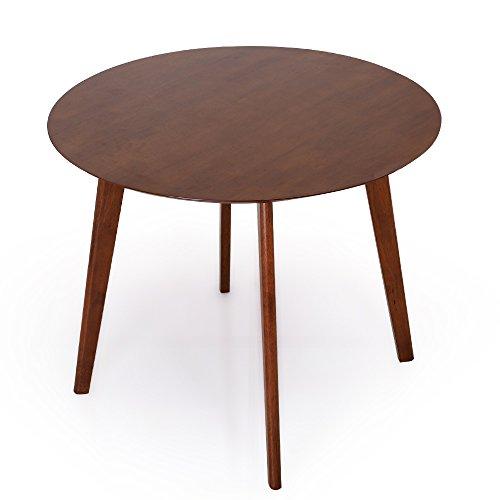 LOWYA  ダイニングテーブル テーブル 単品 丸テーブル 幅90cm コンパクト ホワイト B01LZYEETO 1枚目