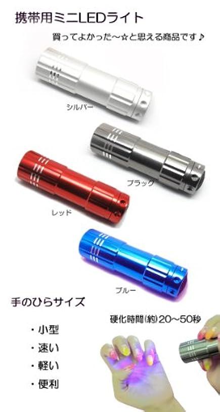 携帯用ミニLEDライト【定形外OK】 もれなくプレゼント? 小型?速い?軽い?便利! (ブルー)