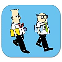 "Dilbert Wally Dilbert comic Vynil車ステッカーデカール – 選択サイズ Large: 9"" c-dilbert2 9"""