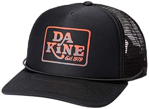 [ダカイン] [ユニセックス] 速乾 サーフキャップ (ドローコード)[ AJ231-924 / LOCK DOWN TRUCKER CAP ] 海 プール 帽子 BLK_ブラック US F (FREE サイズ)