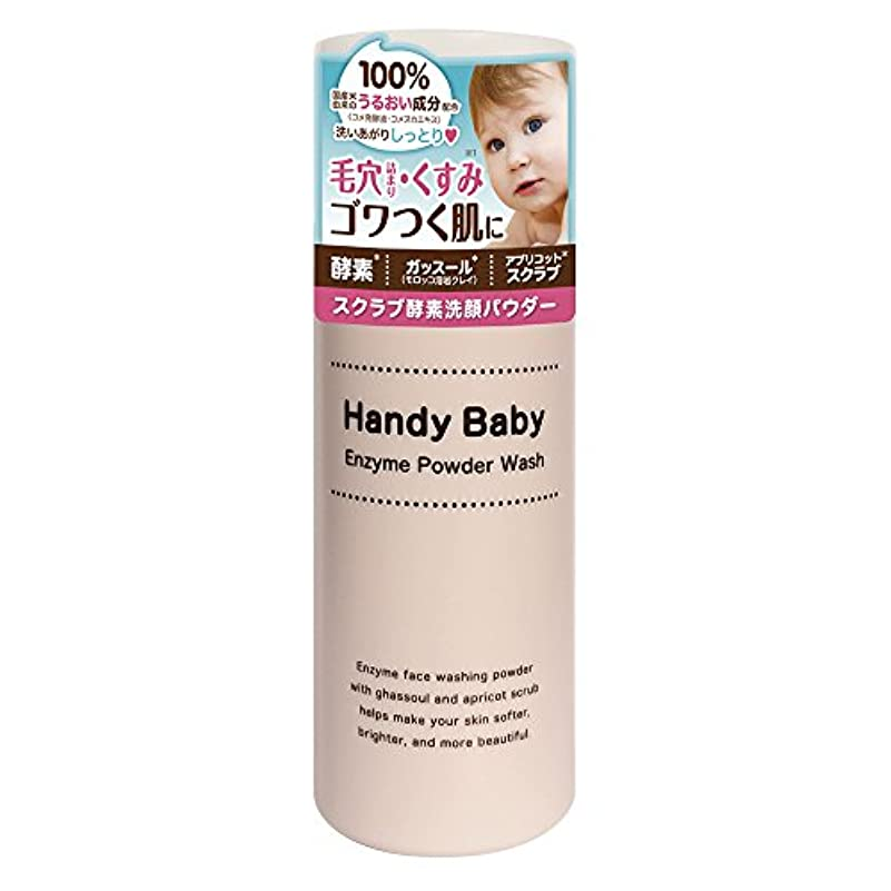 レイアウト混乱慣れるハンディベイビー スクラブ酵素洗顔パウダー (50g)
