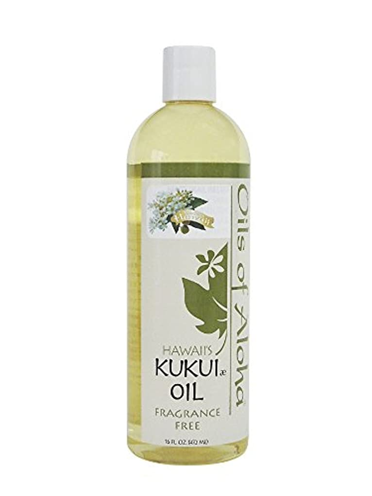 統計クスクス雑種Kukui Skin Oil Fragrance Free/無香料/472ml/16oz