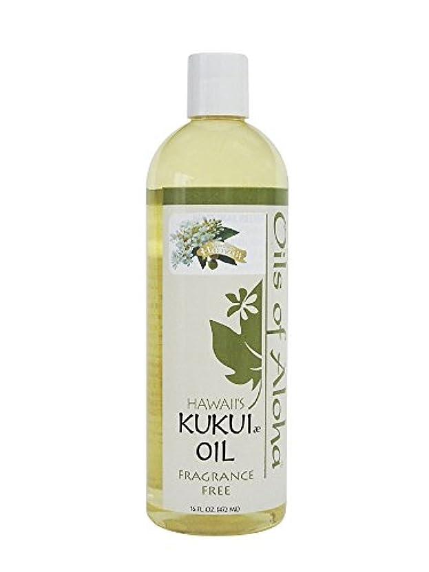 バッチ現実的洗うKukui Skin Oil Fragrance Free/無香料/472ml/16oz